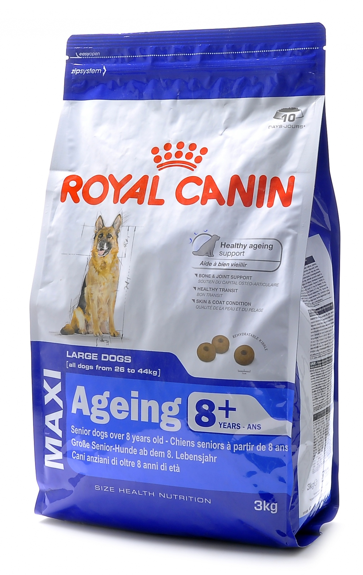 картинка Royal Canin. Для пожилых собак крупных пород старше 8 лет  от зоомагазина Кандибобер